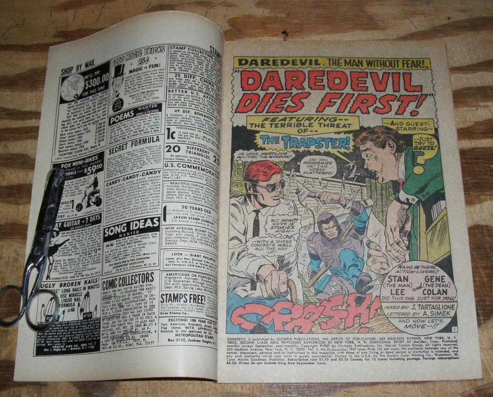 Daredevil the Man Without Fear #35 very fine 8.0