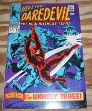 Daredevil the Man Without Fear #39 very fine 8.0