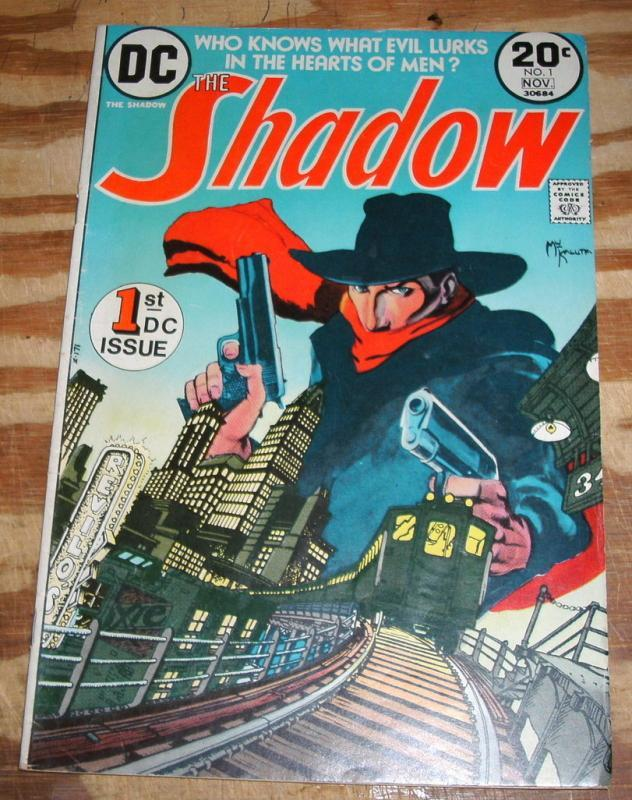 The Shadow #1  comic book very good/fine 5.0