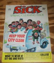 Sick #68 vf/nm 9.0