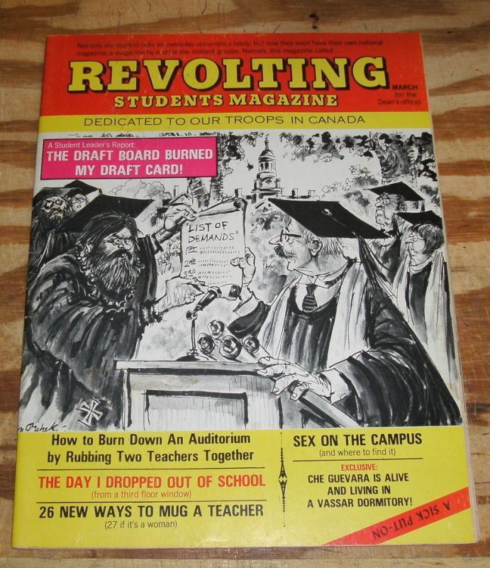Sick #71 magazine very fine 8.0