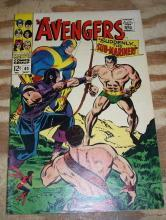 Avengers #40 comic book very fine/near mint 9.0