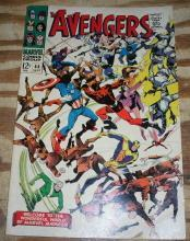 Avengers #44 comic book fine/very fine 7.0