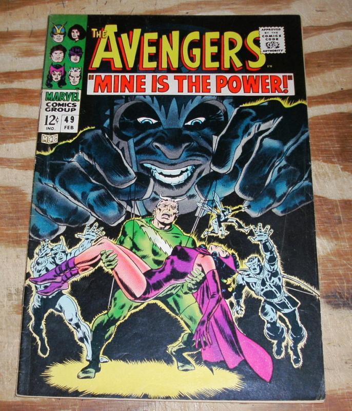 Avengers #49 comic book fine 6.0