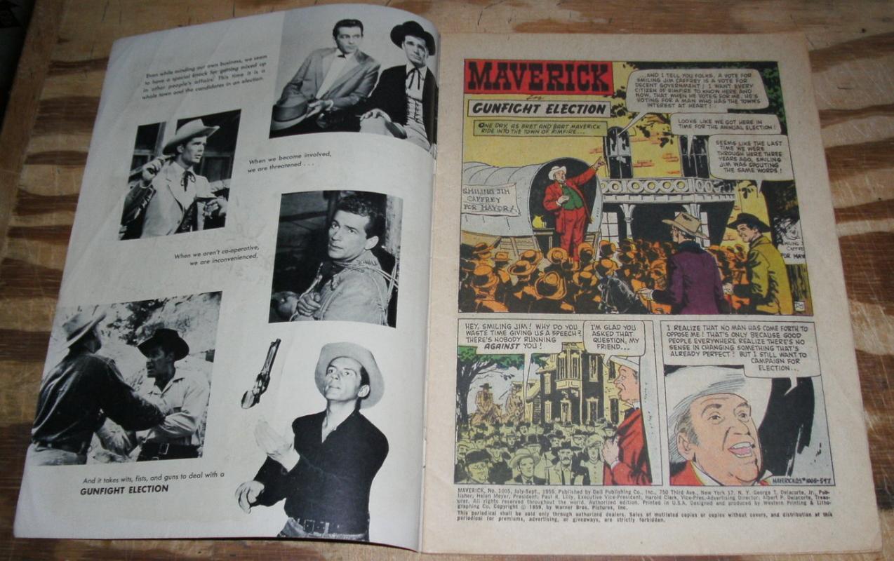 Maverick#1005 comic vg 4.0