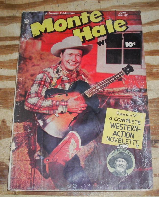 Monte Hale #37  comic fa 1.0