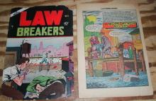 Law Breakers #5 comic book poor 1.0