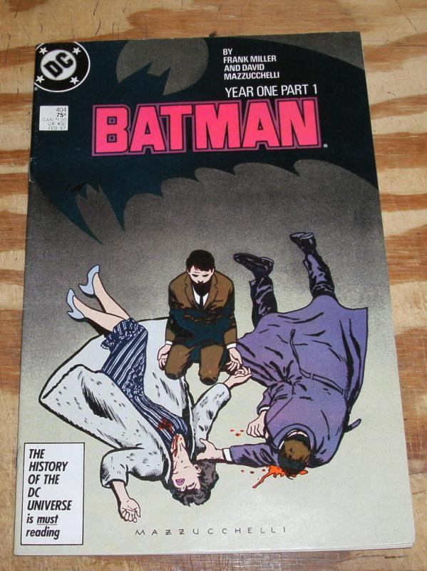 Batman #404 comic book very fine 8.0