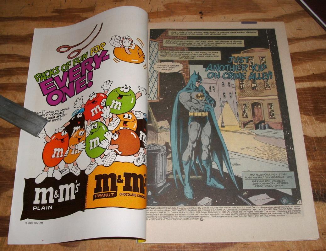 Batman #409 comic book near mint 9.4