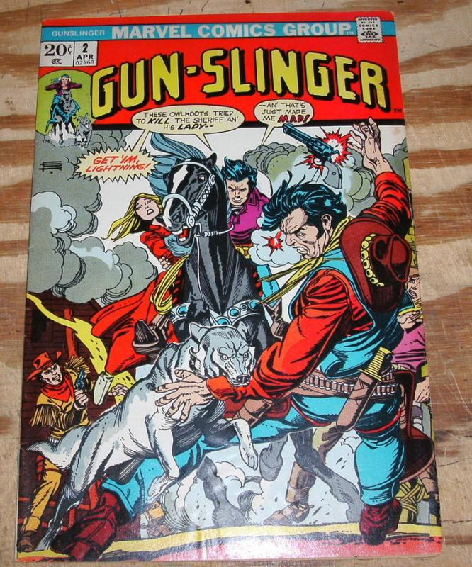 Gun-Slinger #2 very fine/near mint 9.0