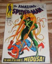 Amazing Spider-man #62 comic book fine 6.0