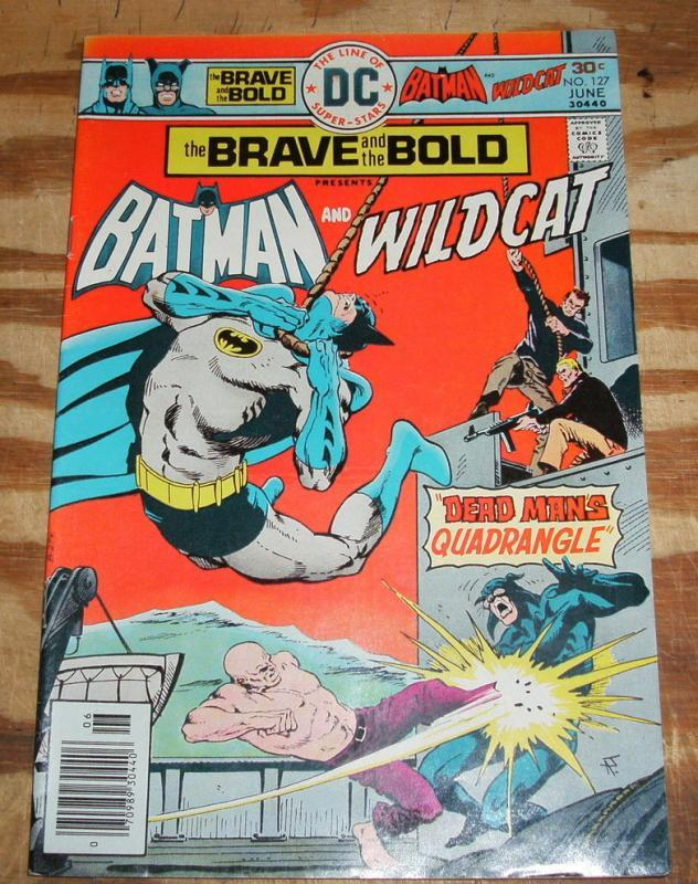 Brave and the Bold #127 comic book very fine/near mint 9.0