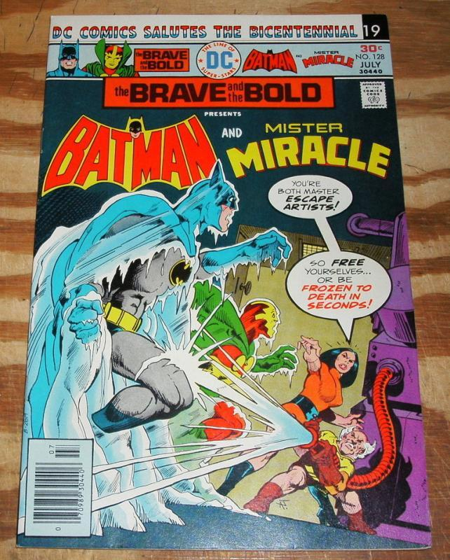 Brave and the Bold #128 near mint 9.4