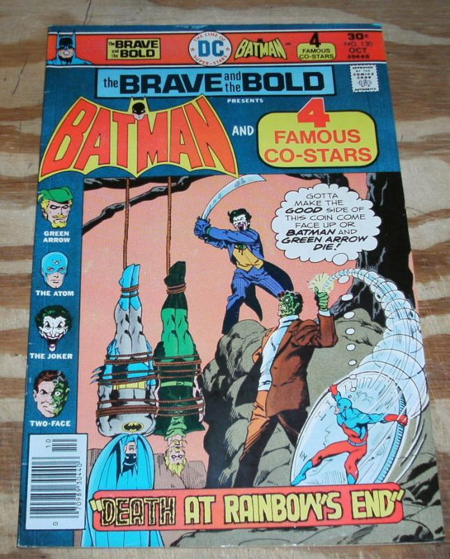 Brave and the Bold #130 comic book very fine/near mint 9.0
