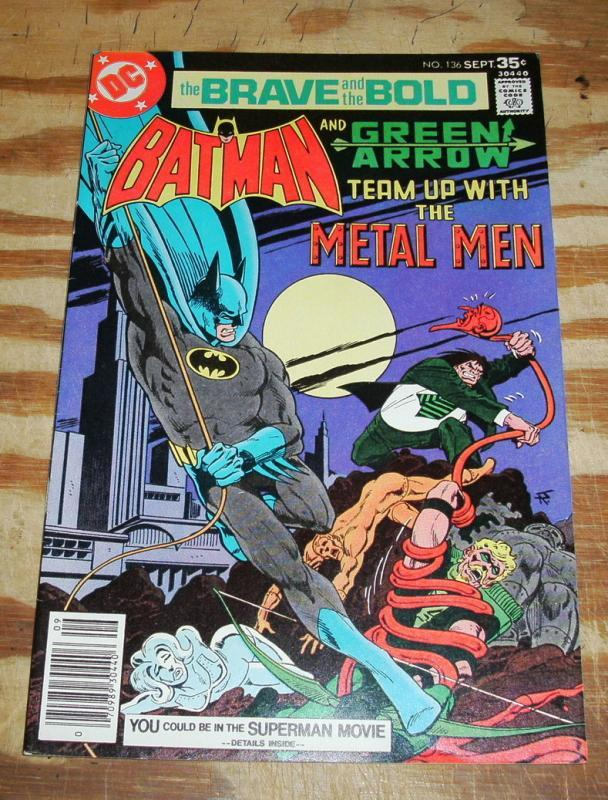 Brave and the Bold #136 comic book near mint 9.4