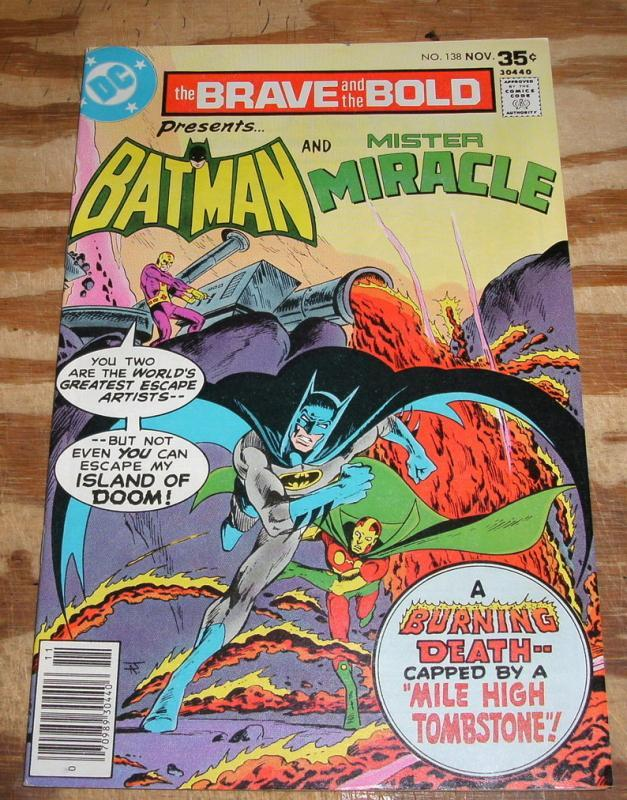 Brave and the Bold #138 comic book near mint 9.4