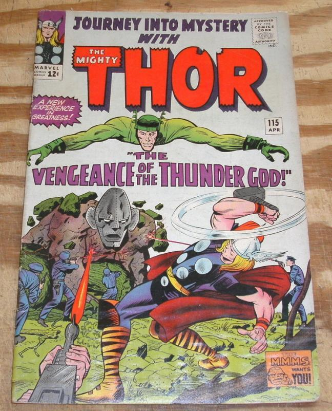 Journey Into Mystery #115 with Thor good/very good 3.0