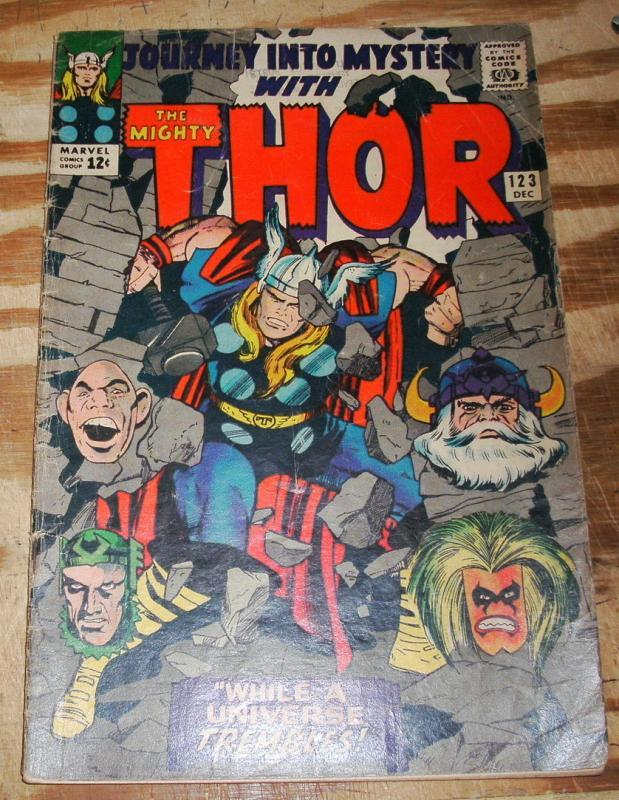 Journey Into Mystery #123 with Mighty Thor very good 4.0
