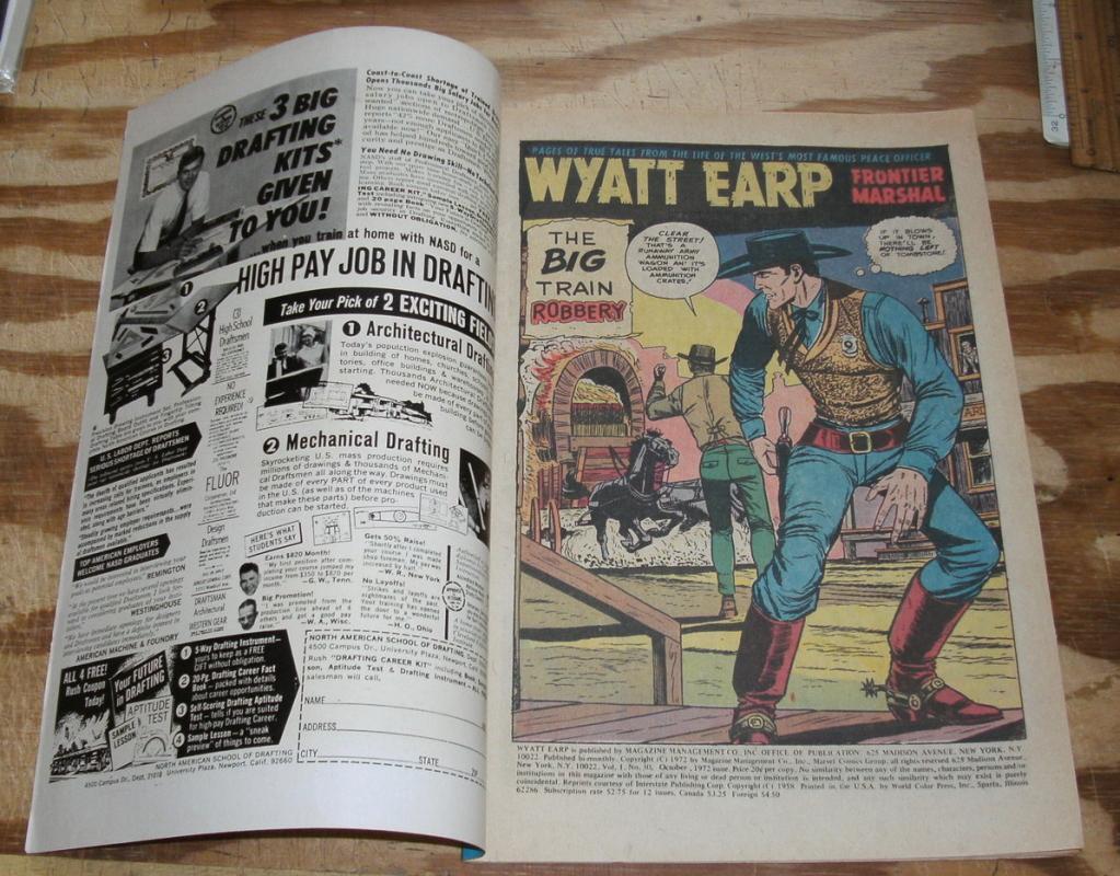 Wyatt Earp #30 comic book vf 8.0