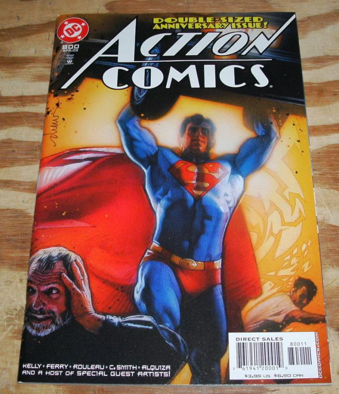 Superman in Action Comics #800   mint 9.8