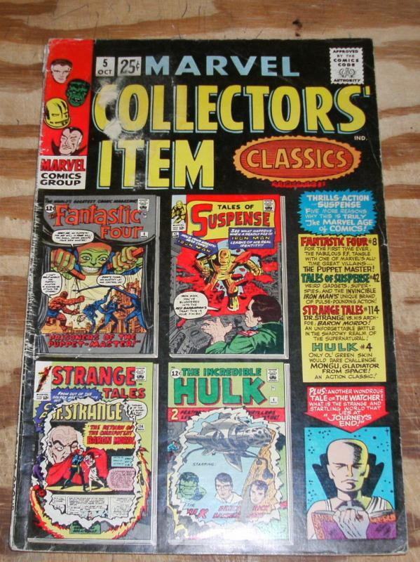 Marvel Collectors' Item Classics #5 very good + 4.5