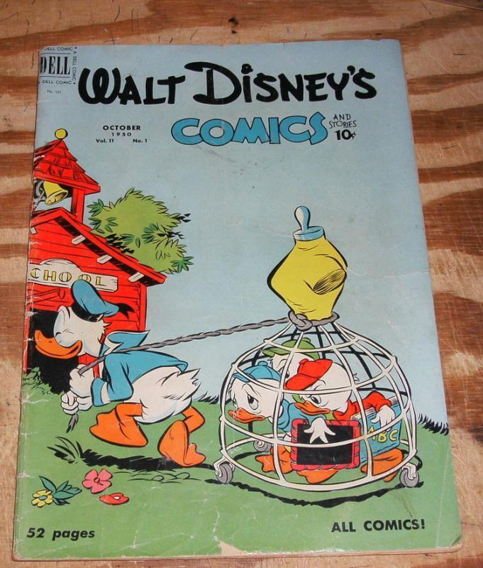 Walt Disney'S Comics and Stories #121 very good 4.0