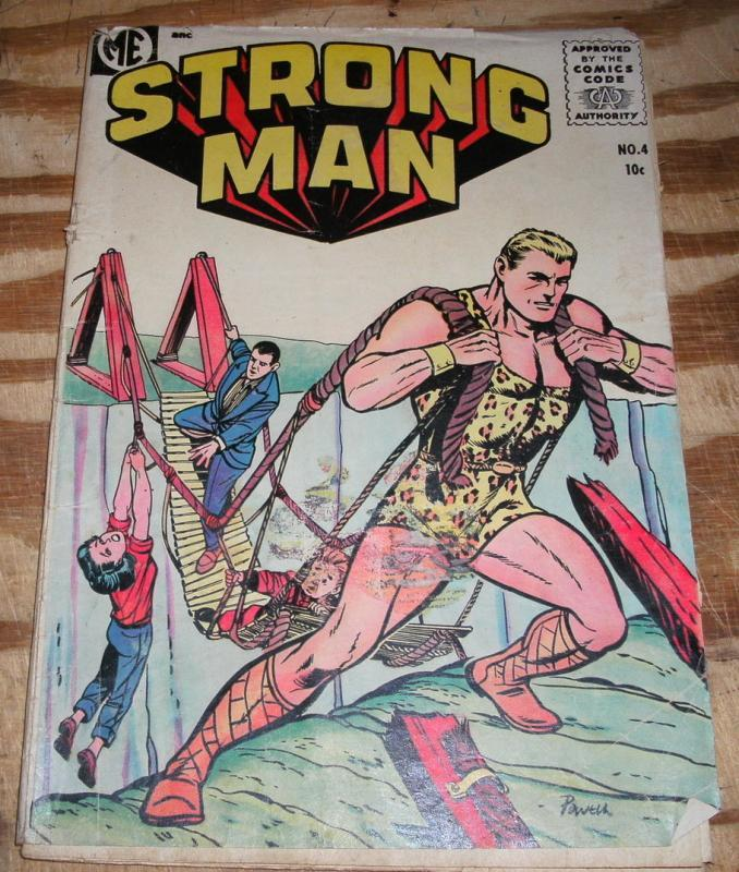 Strong Man #4 good/very good 3.0