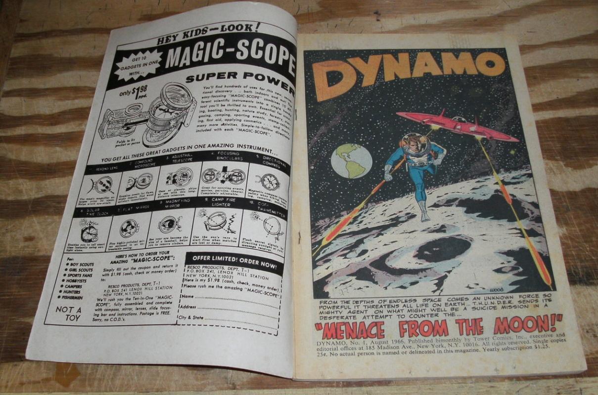Dynamo #1 comic book fine/very fine 7.0