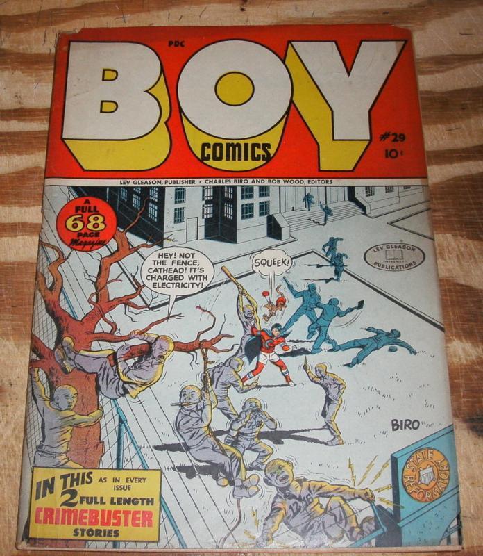 Boy Illustories #29 fine plus 6.5