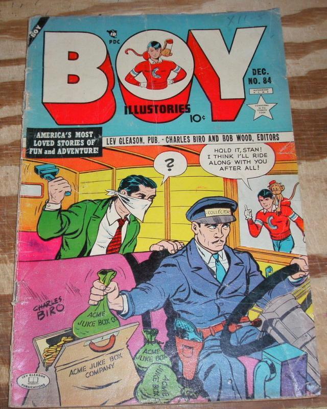 Boy Comics #84 good/very good 3.0