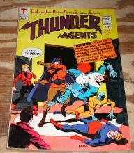 Thunder Agents #6 comic book fn/vf 7.0