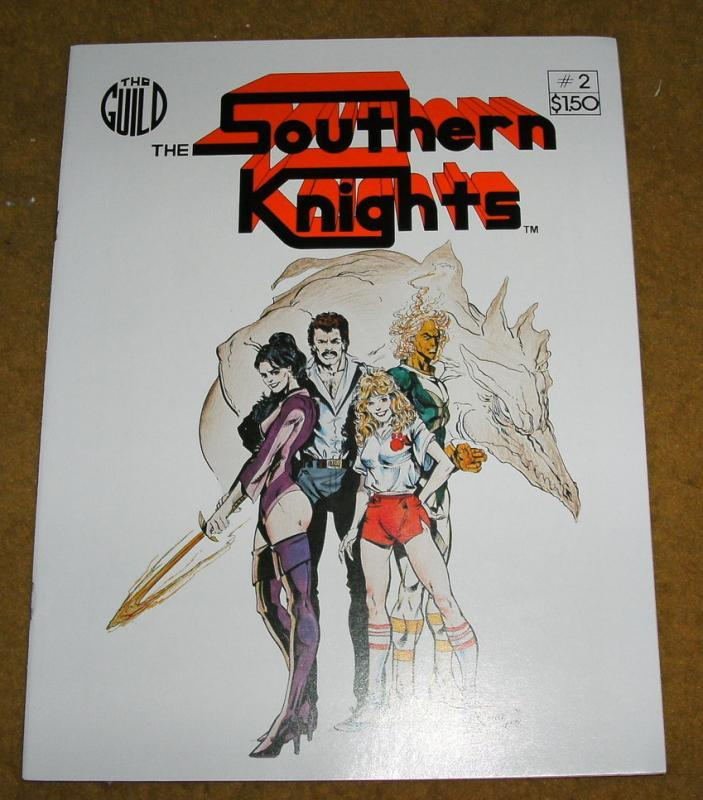 Southern Knights #2 comic book nm 9.4