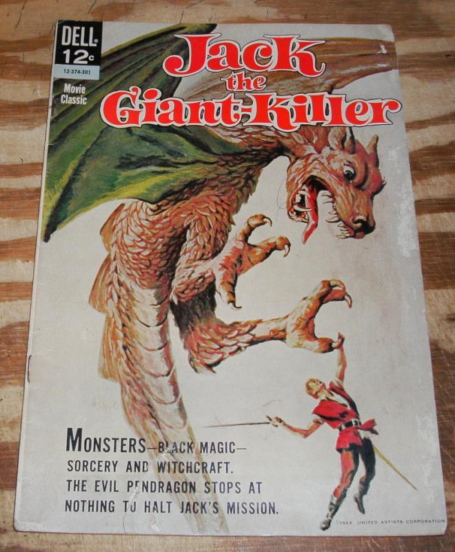 Jack the Giant-Killer Movie Classic  comic book very good 4.0