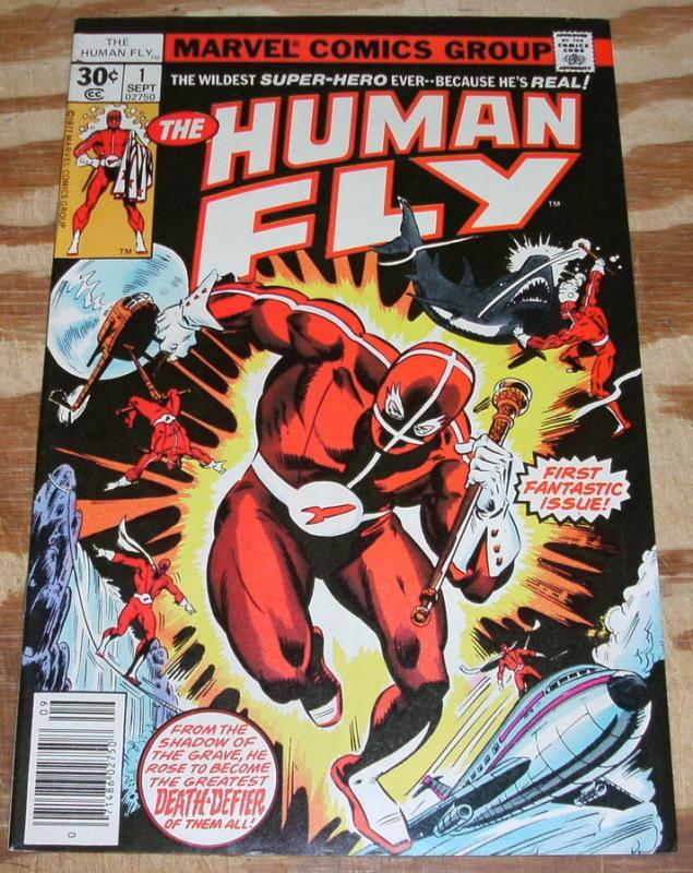 The Human Fly #1 very fine 8.0