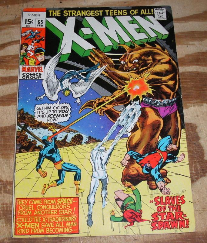 Uncanny X-Men #65 very fine 8.0