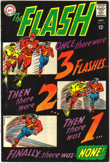 The Flash #173 comic book very good/fine 5.0