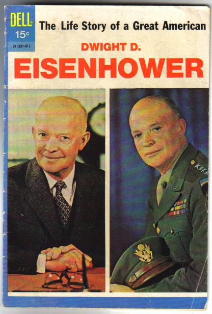Dwight D. Eisenhower  comic book vg 4.0