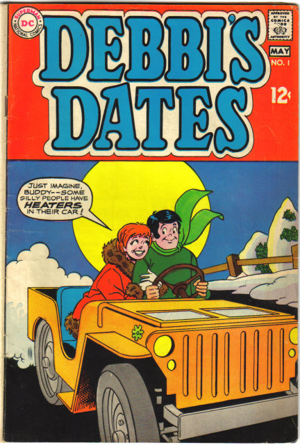 Debbi's Dates #1 comic book vg+ 4.5