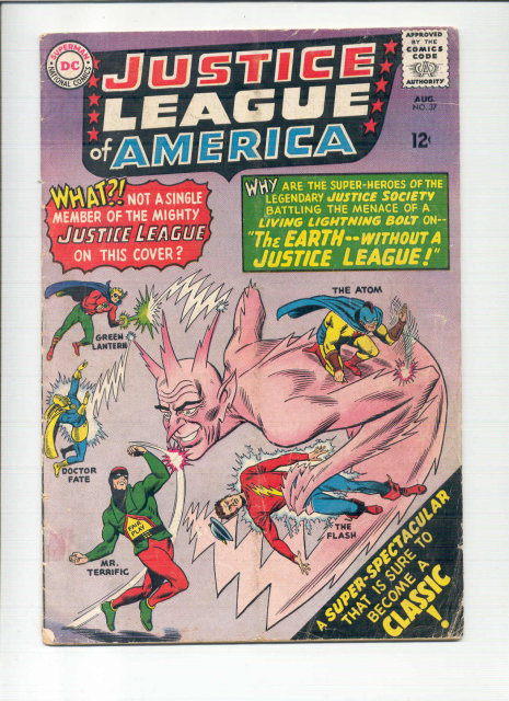 Justice League of America #37 comic book gd+ 2.5