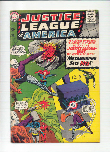 Justice League of America #42 comic book vg/fn 5.0