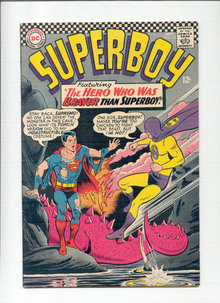 Superboy #132 comic book vg/fn 5.0
