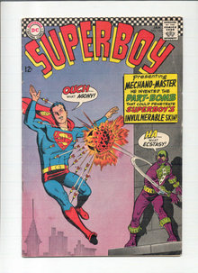 Superboy #135 comic book vg/fn 5.0