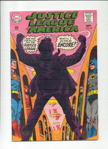 Justice League of America #65 comic book vg 4.0