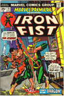 Marvel Premiere featuring Iron Fist #16 comic book vf 8.0