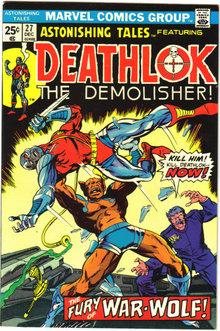 Astonishing Tales featuring Deathlok #27 comic book nm 9.4