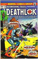 Astonishing Tales featuring Deathlok #28 comic book nm 9.4