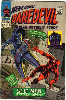 Daredevil #26 comic book fn/vf 7.0