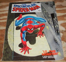 Spectacular Spider-man #1 comic magazine very fine 8.0