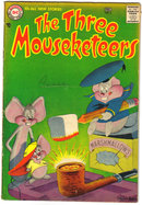 The Three Mouseketeers #6 comic book vg 4.0