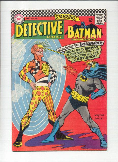 Detective #358 comic book vg/fn 5.0